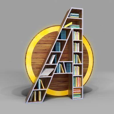 书柜, 置物架, 书架