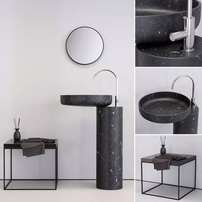 洗手台, 浴柜组合, 现代