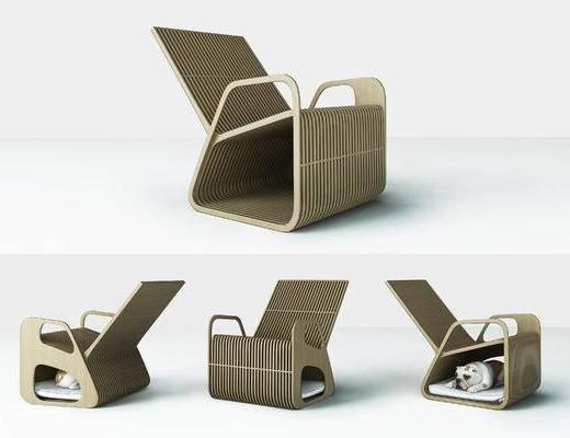 单椅, 躺椅, 休闲椅, 藤椅