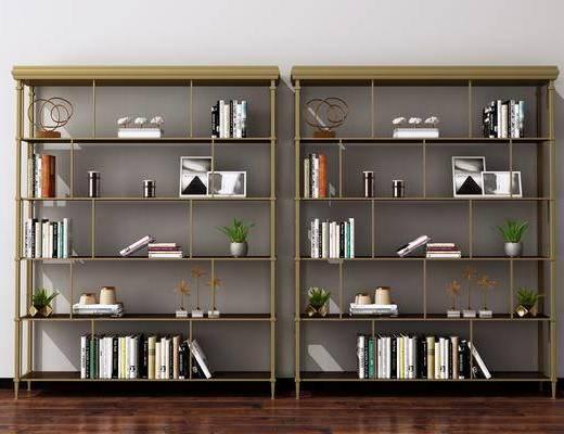 现代装饰架, 现代置物架, 现在货架, 现代书架