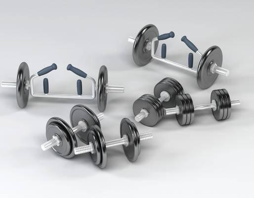 现代, 哑铃, 体育器材, 体育用品, 健身器材