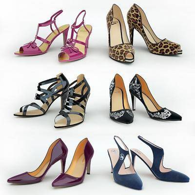 高跟鞋, 现代