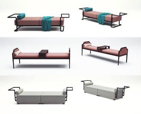 新中式沙發腳踏, 新中式沙發凳, 新中式換鞋凳