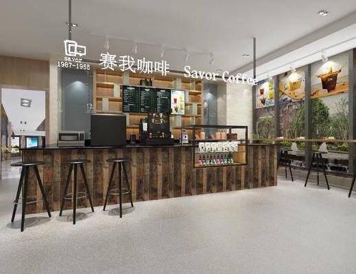 咖啡厅, 咖啡店, 奶茶店, 餐厅