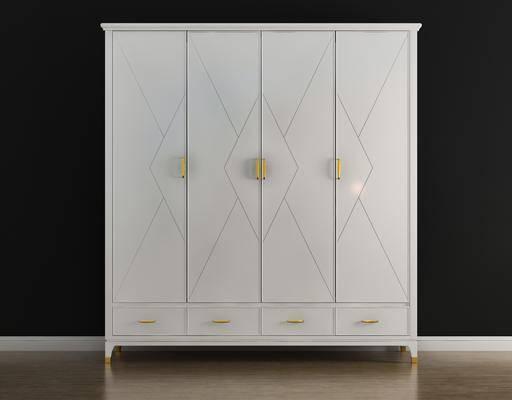 衣柜, 柜架组合