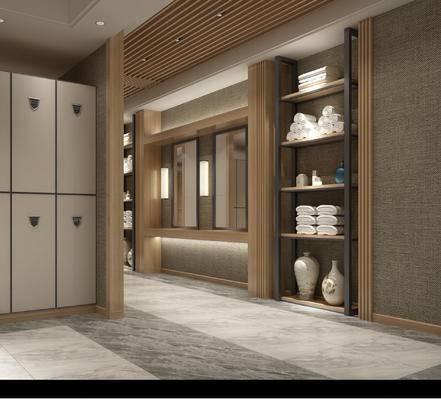浴柜, 更衣室, 储物箱