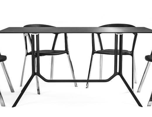 桌子, 椅子, 单椅, 现代