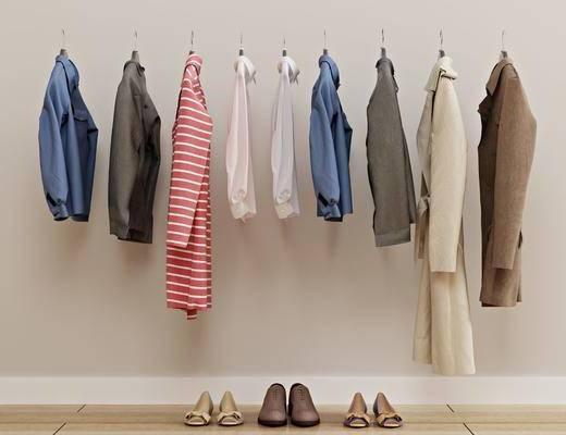 上衣衣服, 外套女装, 男装鞋子, 现代