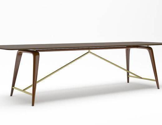 长桌, 桌子, 餐桌, 现代长桌