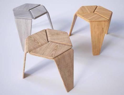 凳子, 单椅