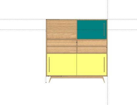 装饰柜架, 置物柜