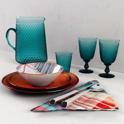 现代餐具组合, 现代, 餐具, 杯子, 水壶, 碟子