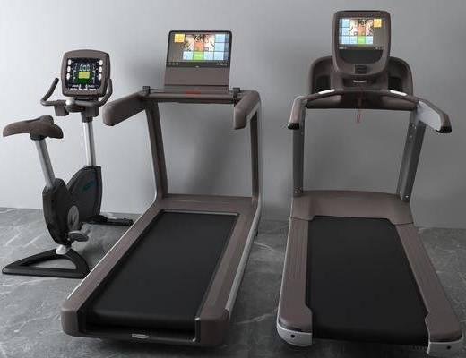 跑步机, 体育器材, 现代