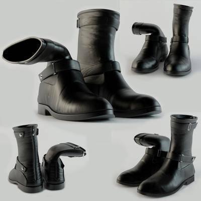 鞋, 皮鞋, 短靴, 现代