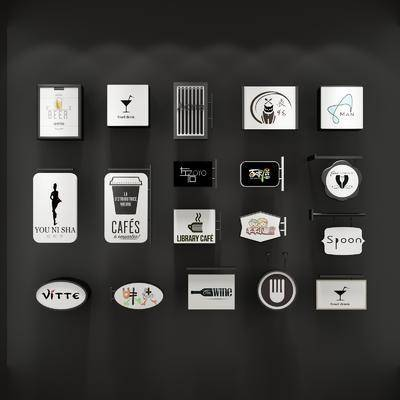 广告牌, 招牌, 现代