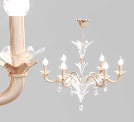 玻璃吊灯, 灯具, 灯饰