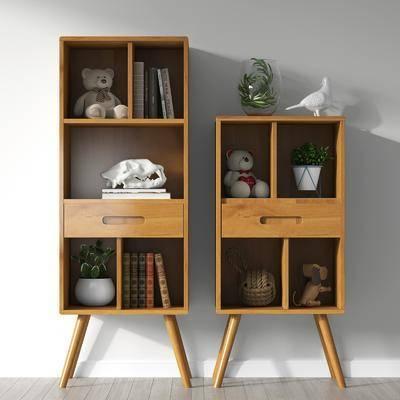 边柜, 矮柜, 柜架组合, 置物柜