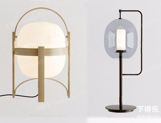 现代简约, 现代台灯, 台灯组合