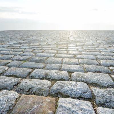 地面, 石头, 中式