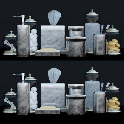 卫浴组合, 浴室, 洗漱用品, 洗浴用品, 现代