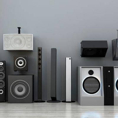 音响, 音箱, 家用电器, 现代