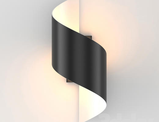 现代简约, 黑色, 壁灯, 黑色壁灯