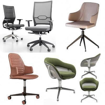 现代办公椅, 现代办公家具, 现代单椅