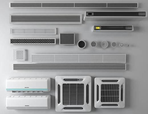 现代空调, 空调