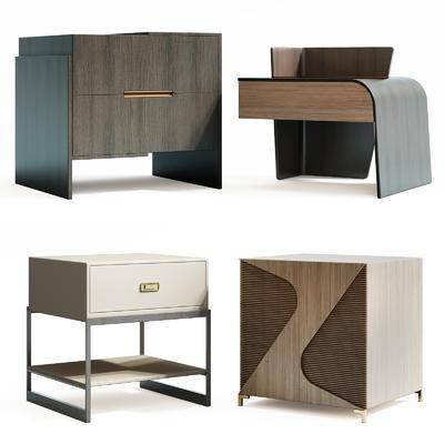 现代, 床头柜
