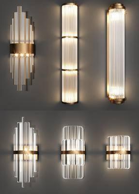 壁燈組合, 現代