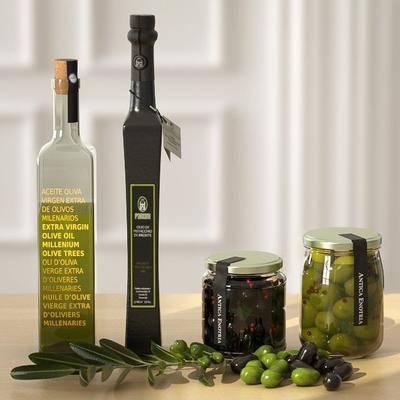橄榄, 玻璃瓶, 橄榄油, 现代