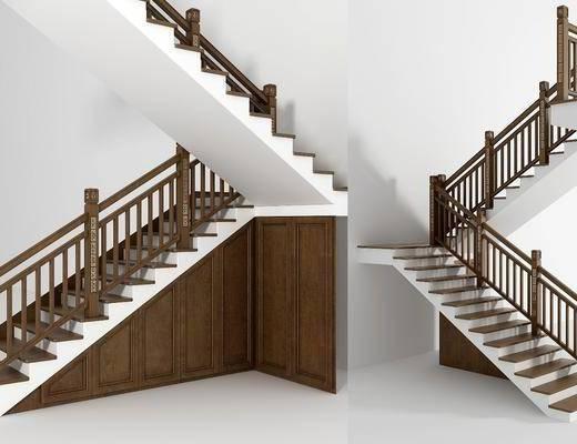 中式楼梯, ?#30340;?#27004;梯, 楼梯, 中式