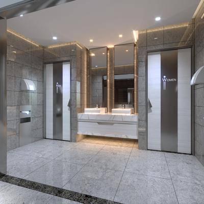 现代, 卫生间, CR, 洗手间