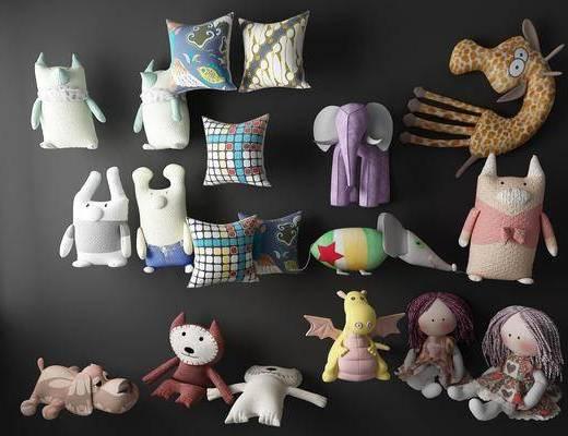 玩具, 玩偶, 公仔, 娃娃