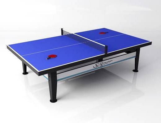现代, 乒乓球桌, 单体