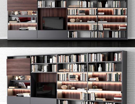 电视柜, 书柜, 家具