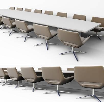 会议桌, 椅子, 单椅, 休闲椅, 办公椅, 现代
