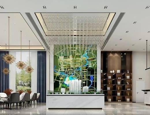 現代售樓部, 售樓部, 售樓中心