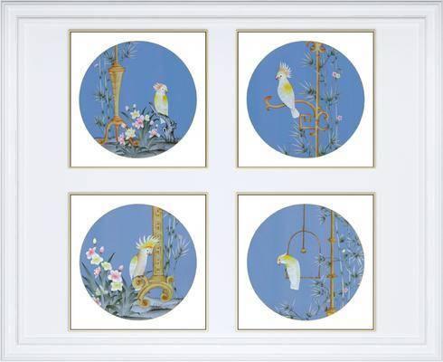 裝飾畫, 組合畫, 掛畫, 新中式