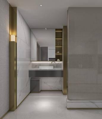 公寓, 客厅, 现代, 简约, 现代客厅, 沙发组合