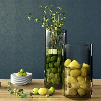 餐碟, 玻璃瓶, 食物, 现代