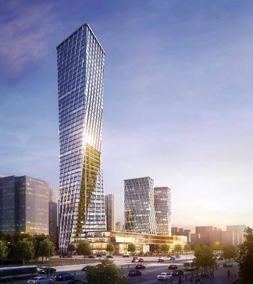 现代, 高楼, 建筑