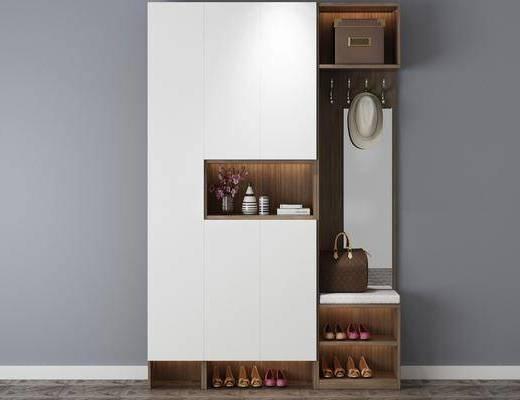 现代置物柜, 置物柜, 柜架组合