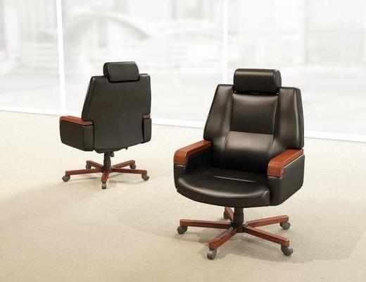 办公椅, 单人椅, 现代