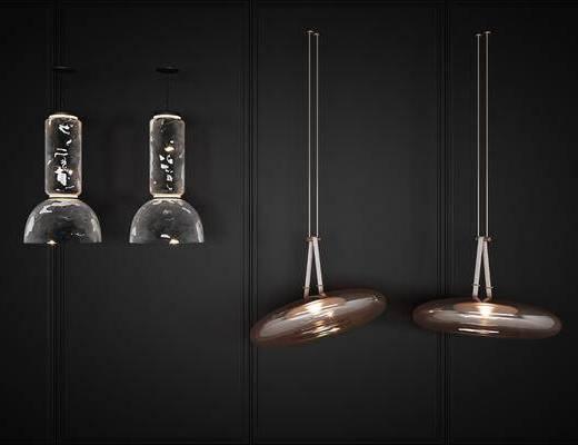 后现代, 吊灯, 灯具