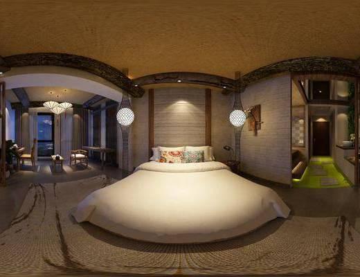 民宿, 酒店, 客房