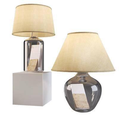 现代, 台灯, 灯具
