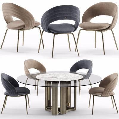 单椅, 桌椅组合