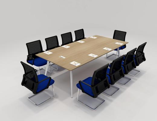 桌子, 会议桌, 椅子, 桌椅组合