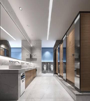 公共卫生间, 洗手台